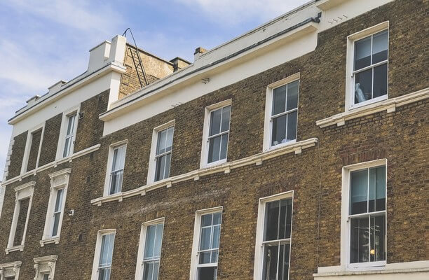 Campden Hill Road W10 office space – Building External