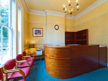 Warwick Road office space – Reception