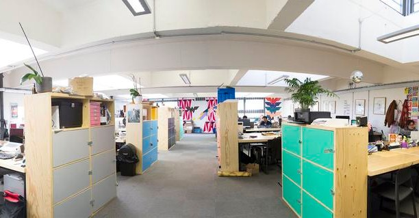 The Oval E8 office space – Private Office (different sizes available).