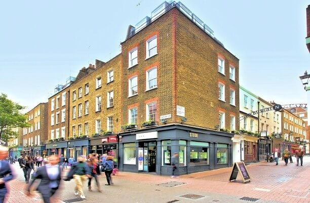 Carnaby Street W1 office space – Building External
