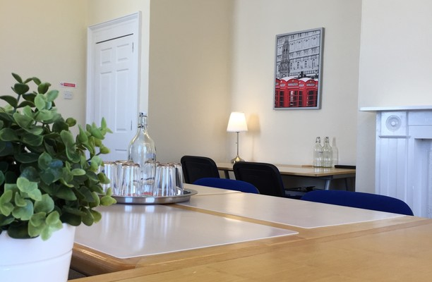 Huntingdon Street PE19 office space – Meeting/Boardroom.