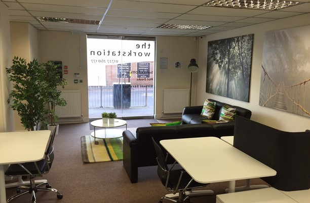 Huntingdon Street PE19 office space – Break Out Area