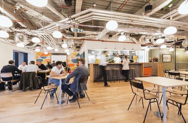 Primrose Street EC2 office space – Break Out Area