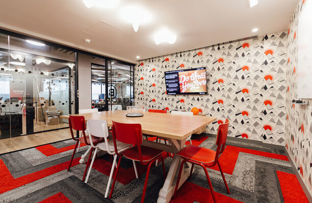 Devonshire Square EC2 office space – Meeting/Boardroom.