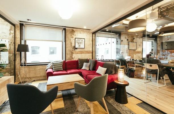 Devonshire Square EC2 office space – Break Out Area