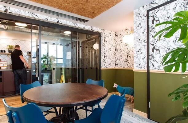 Great Chapel Street W1 office space – Meeting/Boardroom.