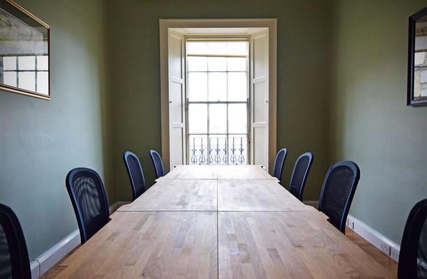Albany Street EH1 office space – Meeting/Boardroom.
