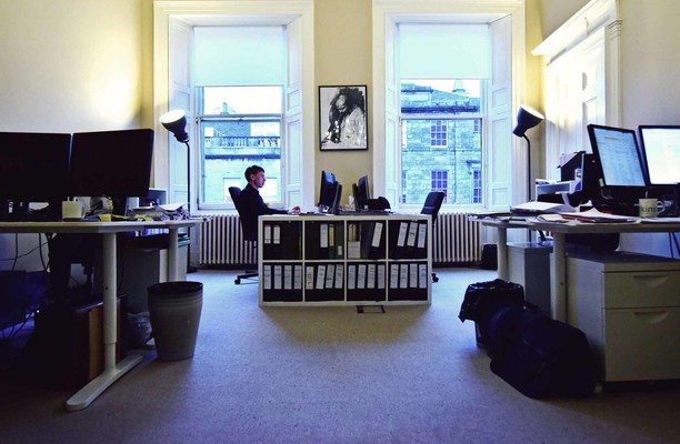 Walker Street EH1 office space – Private Office (different sizes available).