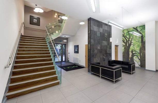 Stratford Road office space – Hallway