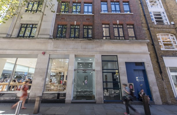 Neal Street WC2 office space – Building External