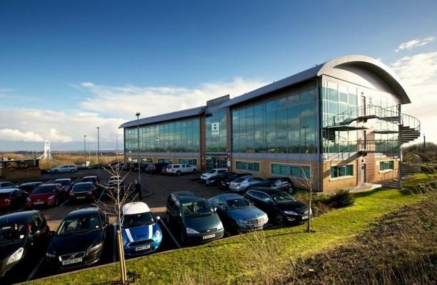 Beaufort Park NP16 office space – Building External