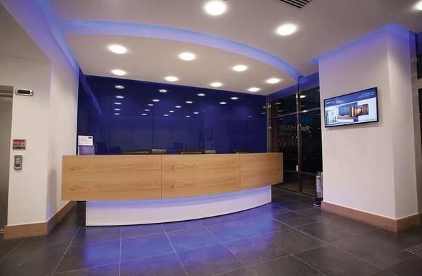 Park Square West LS1 office space – Reception