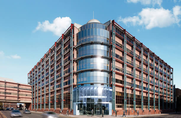 Bath Street office space – Building External