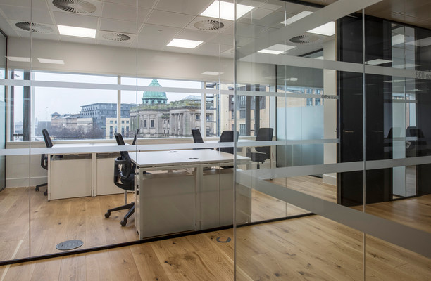 Bath Street office space – Private Office (different sizes available).