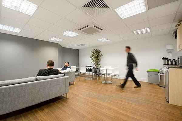 Greville Street EC1 office space – Break Out Area