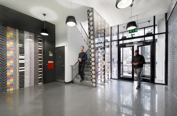 Whitechapel Road E1 office space – Foyer