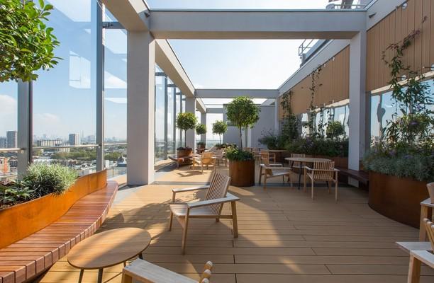 Eastbourne Terrace W2 office space – Outdoor Area