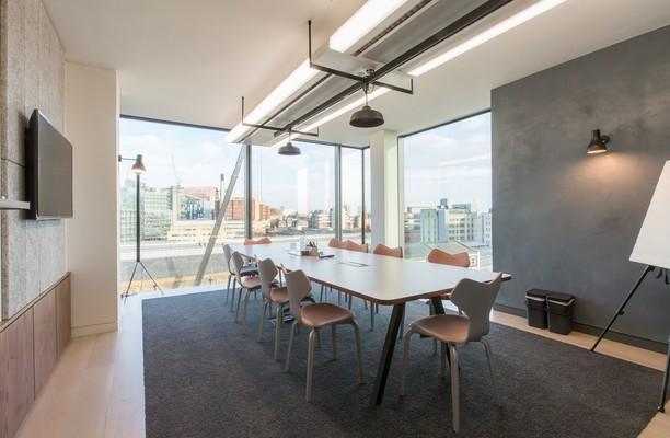 Eastbourne Terrace W2 office space – Meeting/Boardroom.