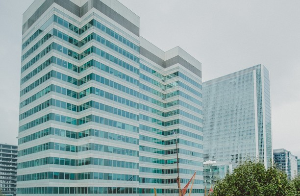 Marsh Wall E14 office space – Building External
