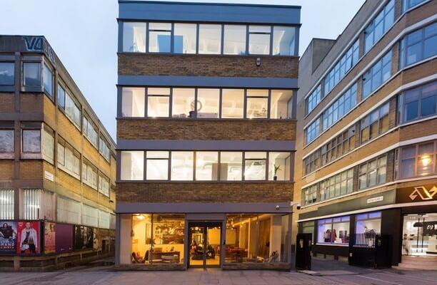 Curtain Road EC1 office space – Building External