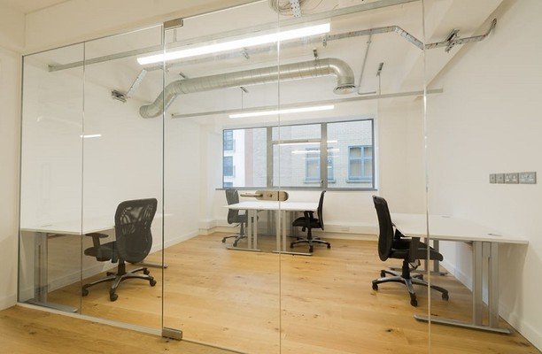 Curtain Road EC1, EC2 office space – Private Office (different sizes available).