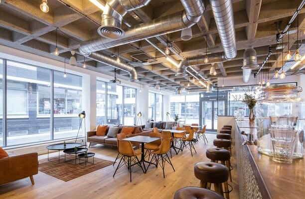 Curtain Road EC1 office space – Break Out Area