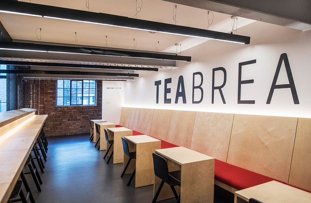 Wood Street L2 office space – Break Out Area