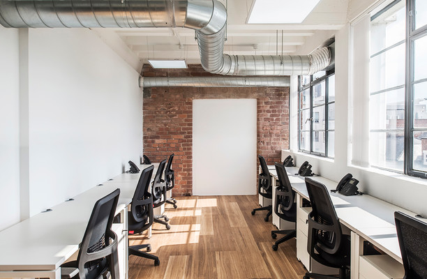 Fleet Street L2 office space – Private Office (different sizes available).