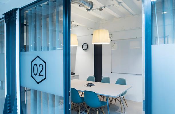 Wood Street L2 office space – Meeting/Boardroom.