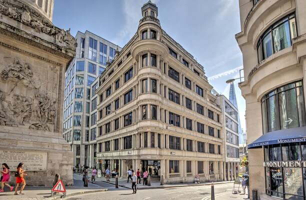 Monument Street EC4 office space – Building External