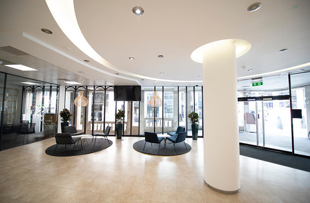 Monument Street EC4 office space – Foyer