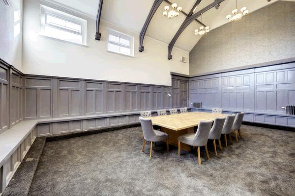Clervaux Terrace NE1 office space – Meeting/Boardroom.