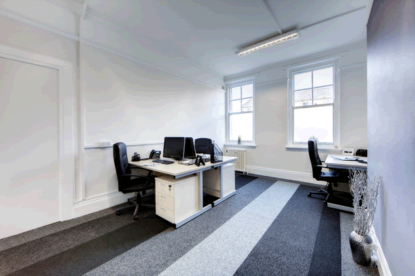 Clervaux Terrace office space – Private Office (different sizes available).