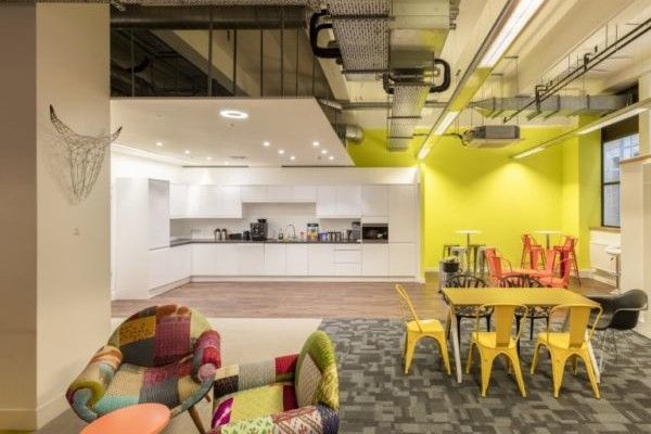 Paris Garden SE1 office space – Break Out Area