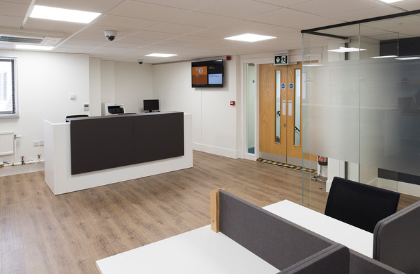 Queen Street SP1 office space – Reception