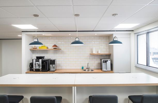 Queen Street SP1 office space – Kitchen
