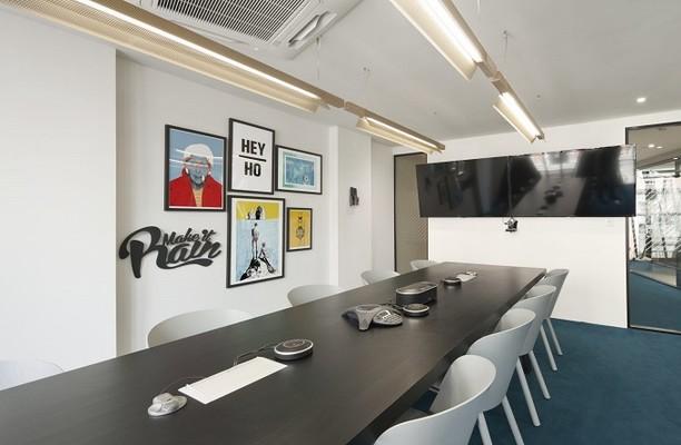 Ramillies Street W1 office space – Meeting/Boardroom.