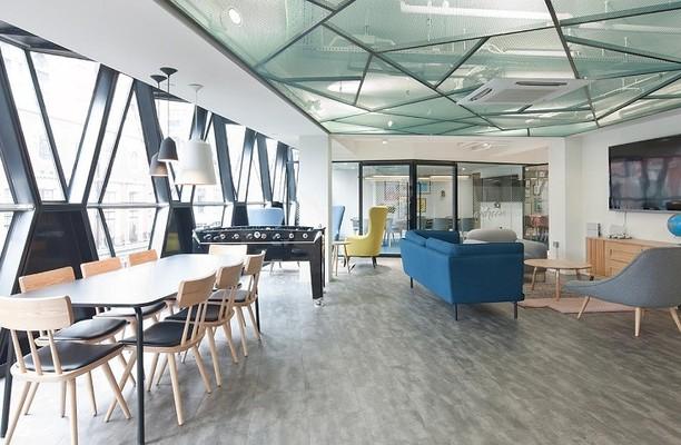 Ramillies Street W1 office space – Break Out Area