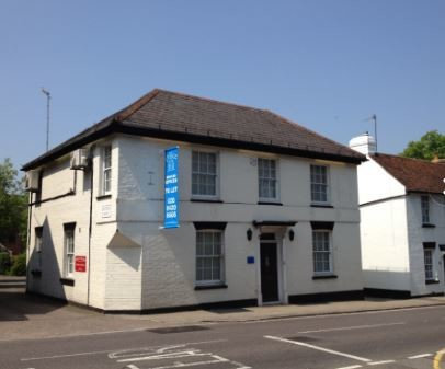 High Street WD6 office space – Building External