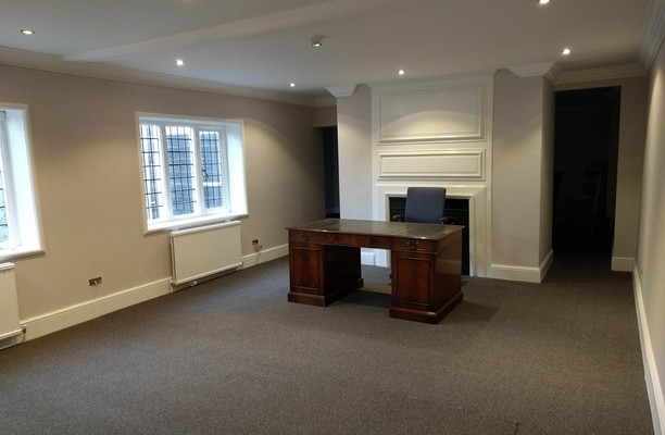 George Street WD1, WD2 office space – Private Office (different sizes available).