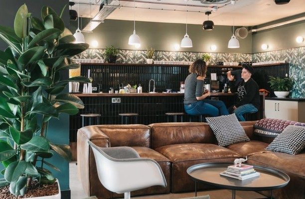 Mare Street E8 office space – Break Out Area