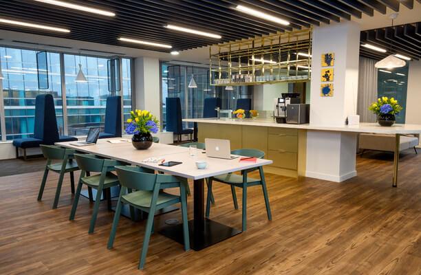 Victoria Street SW1 office space – Kitchen