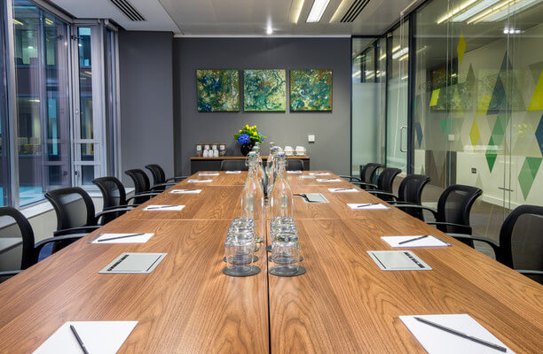 Victoria Street SW1 office space – Meeting/Boardroom.