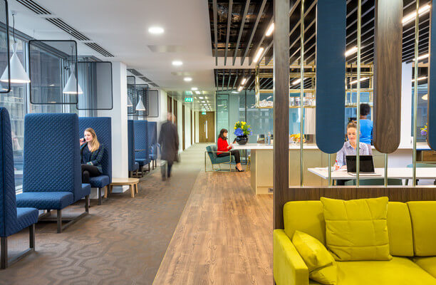 Victoria Street SW1 office space – Break Out Area