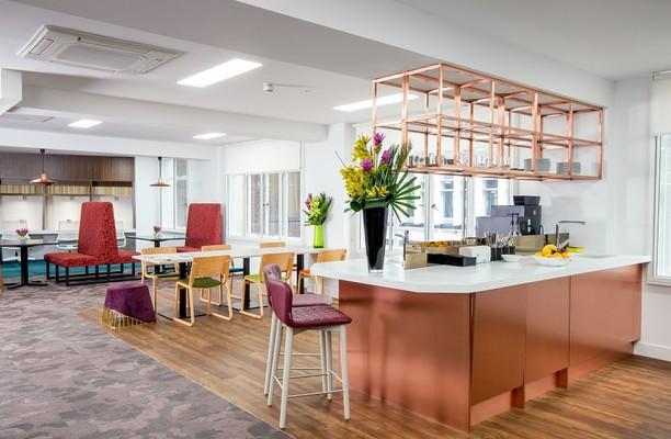 Fenchurch Street EC3 office space – Break Out Area
