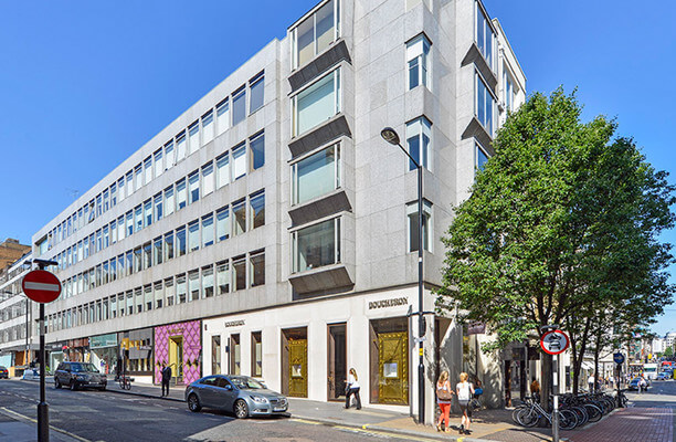 Grafton Street W1 office space – Building External