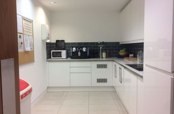 Grafton Street W1 office space – Kitchen
