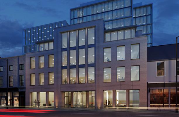 Union Street office space – Building External