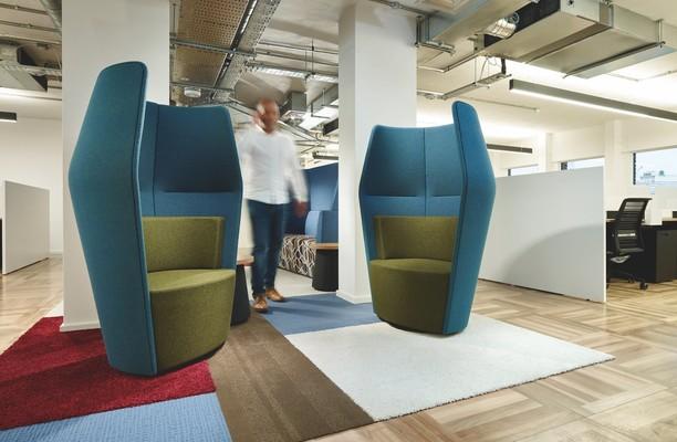 Harp Lane EC4 office space – Break Out Area