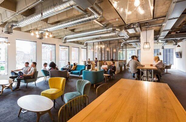 Duke's Place E1, EC3 office space – Break Out Area